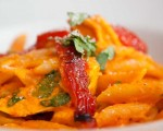 Red Pepper & Coconut Pasta