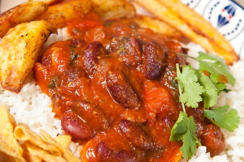 Vegetarian Chili Con Carne Recipe Chilli Without Carne