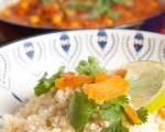 Vegan Tagine with apricots