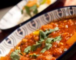 Moroccan Vegetable tagine with butternut squash and chick peas recipe