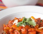 Sweet Potato, chickpea and peppers