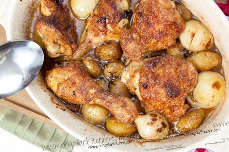 Quick Oven Chicken Recipe Mongoliankitchen
