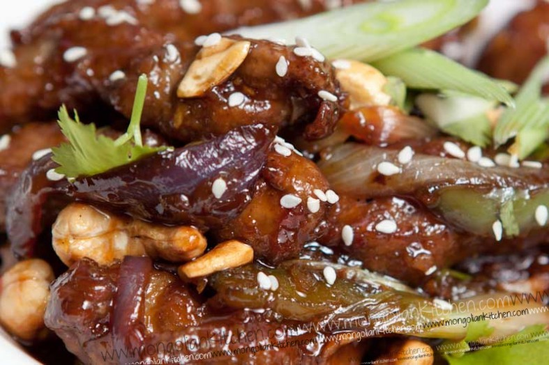 Mongolian Beef Recipe - Step by Step Recipe for Mongolian Beef ...