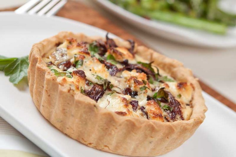 caramelised onion and goats cheese tart recipe goats