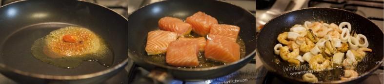 bake lobster chowder salmon paella smoked salmon paella seafood paella ...