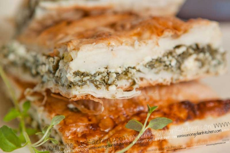 Spanikopita Recipe - How to make spinach and feta cheese spanikopita ...