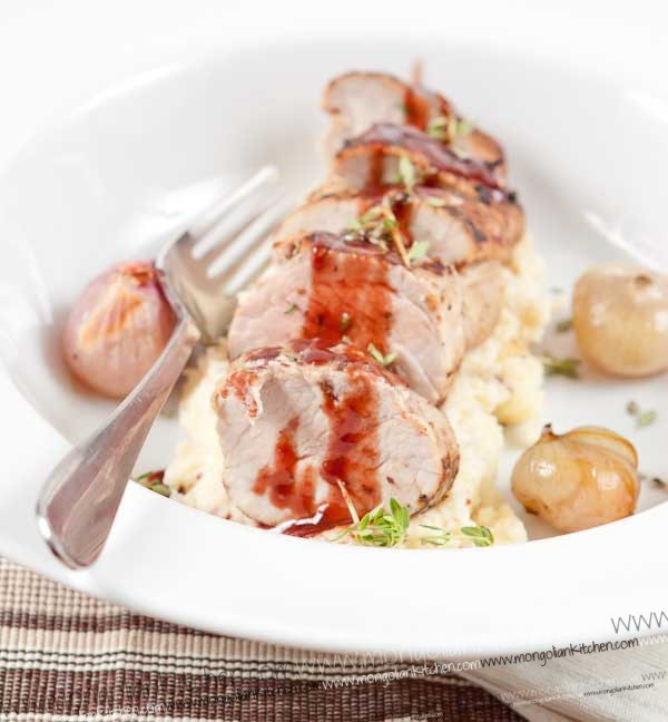 Quick Roast pork loin recipe