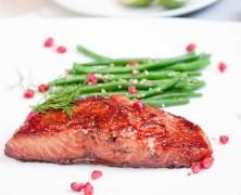 Grape & Pomegranate  Salmon