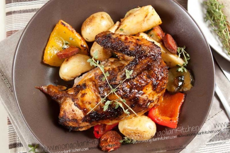 Pan-Roasted Chicken With Herbes De Provence Recipes — Dishmaps
