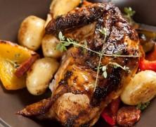 Chorizo Roast Chicken