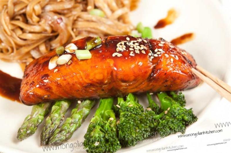 Salmon Teriyaki Recipe — Dishmaps