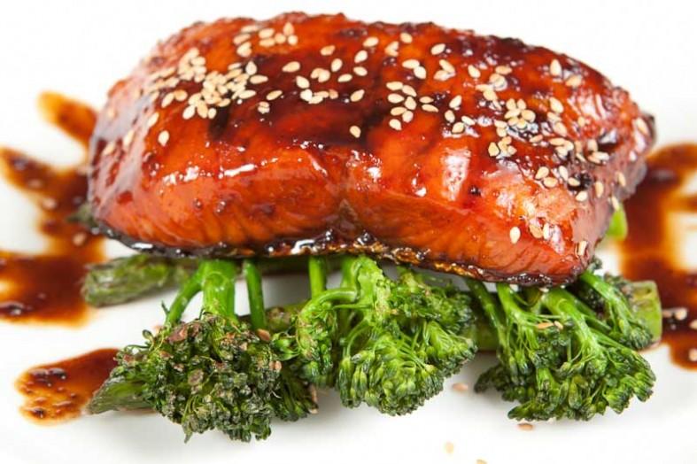 Teriyaki Salmon Recipe [ Step by step picture recipe ...