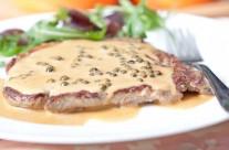 Pepper Verde Steak